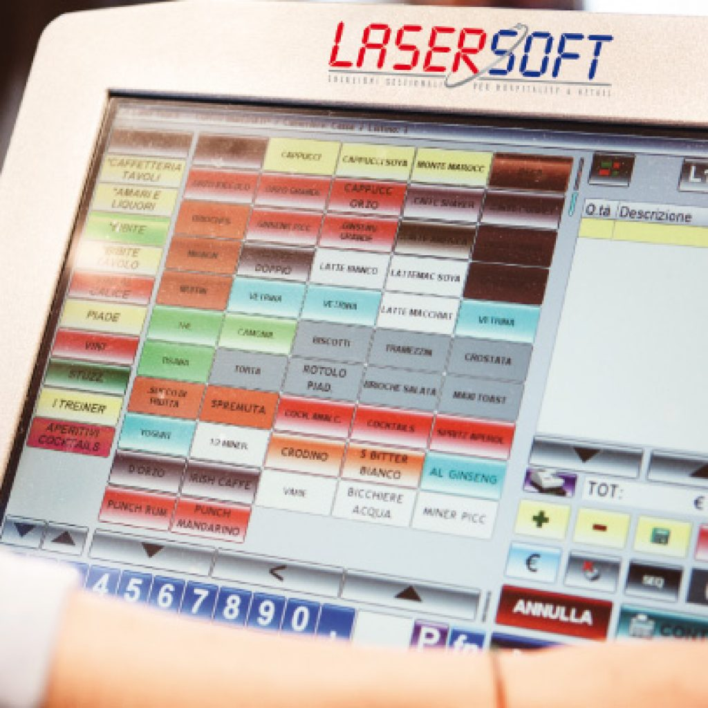 pos hardware software retail touch screen